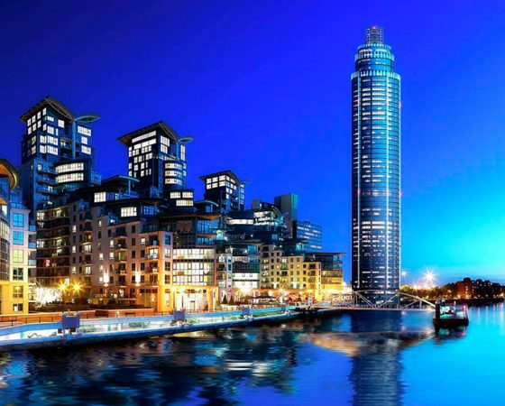 St George Wharf Tower Vauxhall