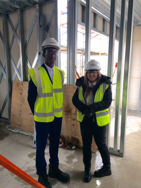 Career Ready students enjoy a site visit in Edinburgh