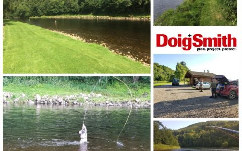 Doig + Smith fish on the Spey