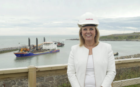 Michelle Handforth CEO talks to us about the £350m Aberdeen Harbour Extension Project