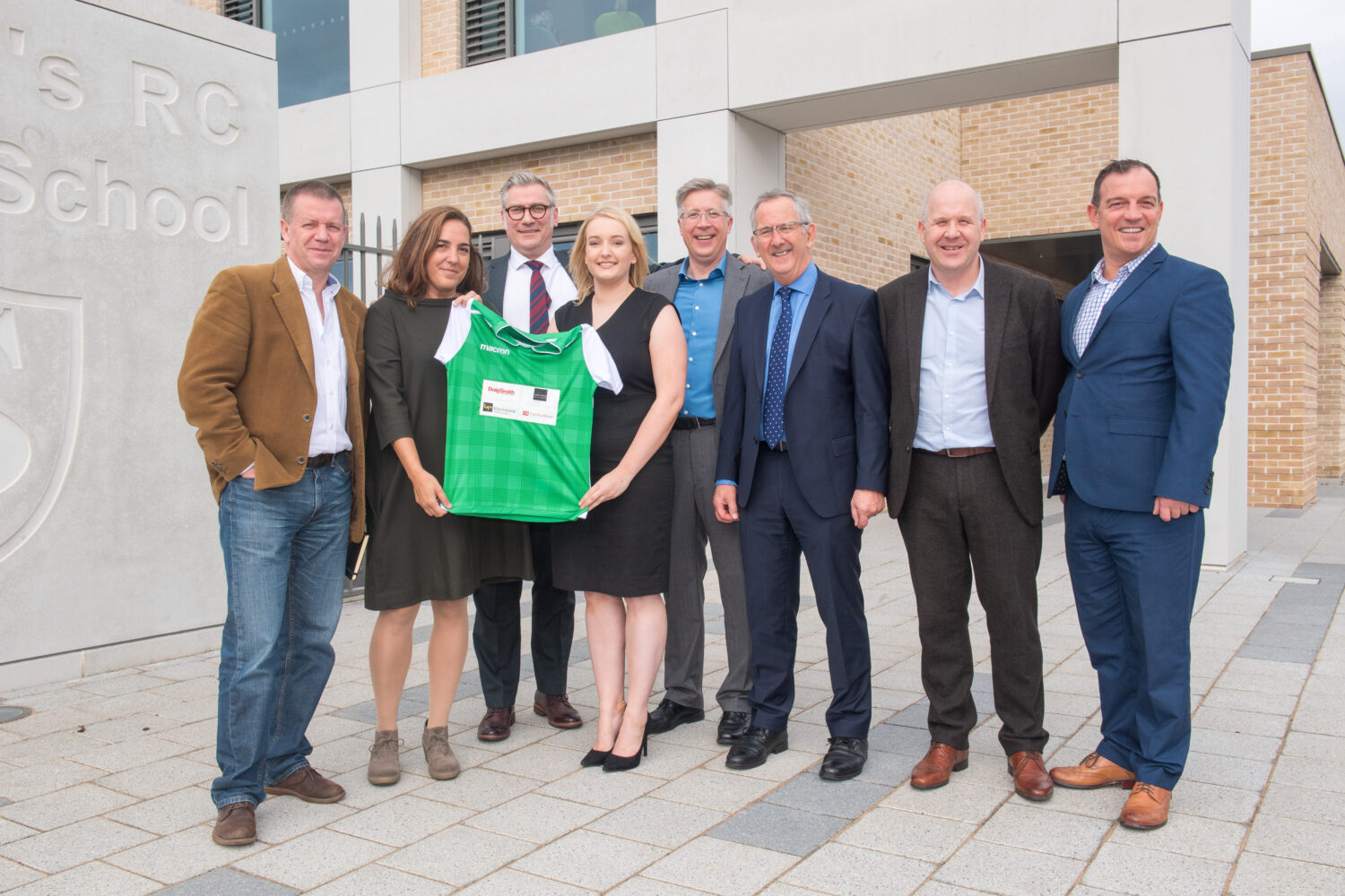 Doig+Smith reveal new St John's Primary School strips at official opening