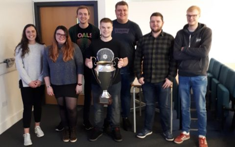 Alastair wins top place at Edinburgh Napier University