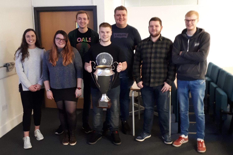Alastair wins top place at Edinburgh Napier University