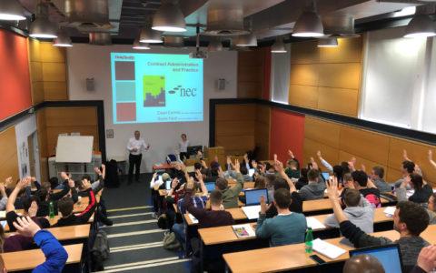 D+S provide lectures for Edinburgh Napier Students