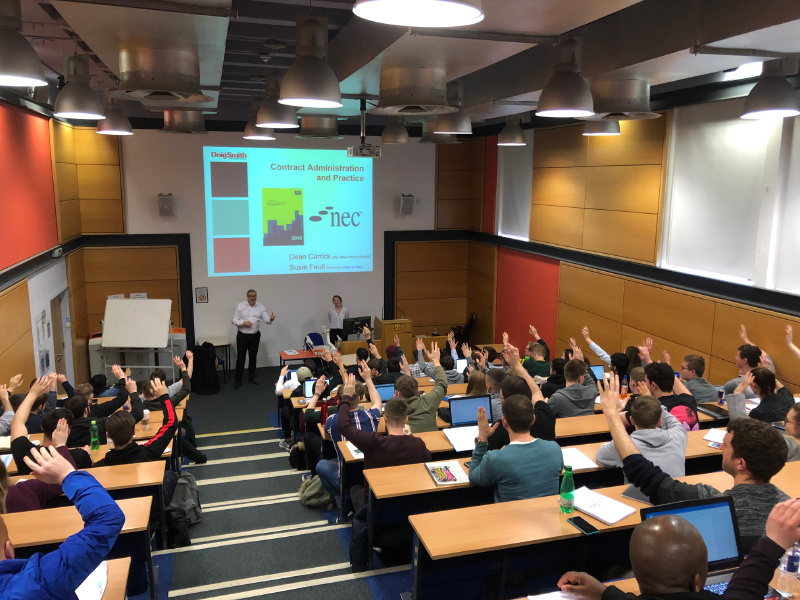 D+S provide lectures for Edinburgh Napier Students