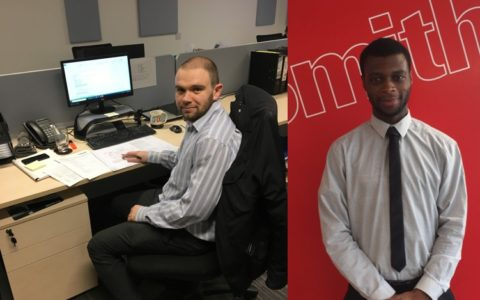 Two new team members welcomed to D+S