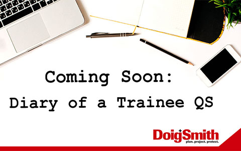 Coming Soon: Diary of a Trainee QS