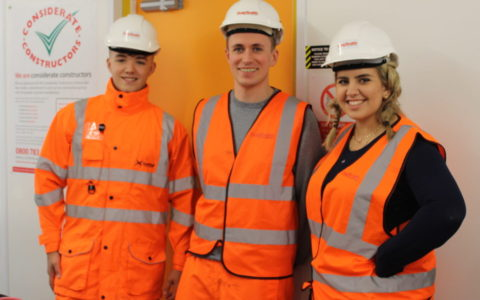 Diary of a Trainee QS: A Site Visit to Robroyston Station