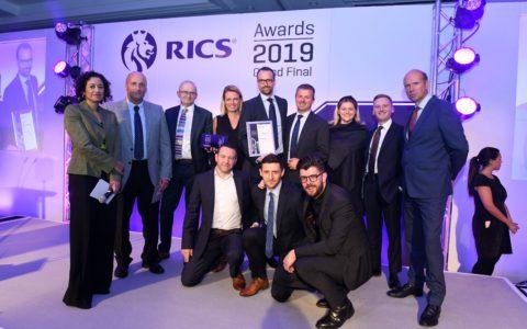 Celebrating Success at the RICS Grand Final Awards 2019
