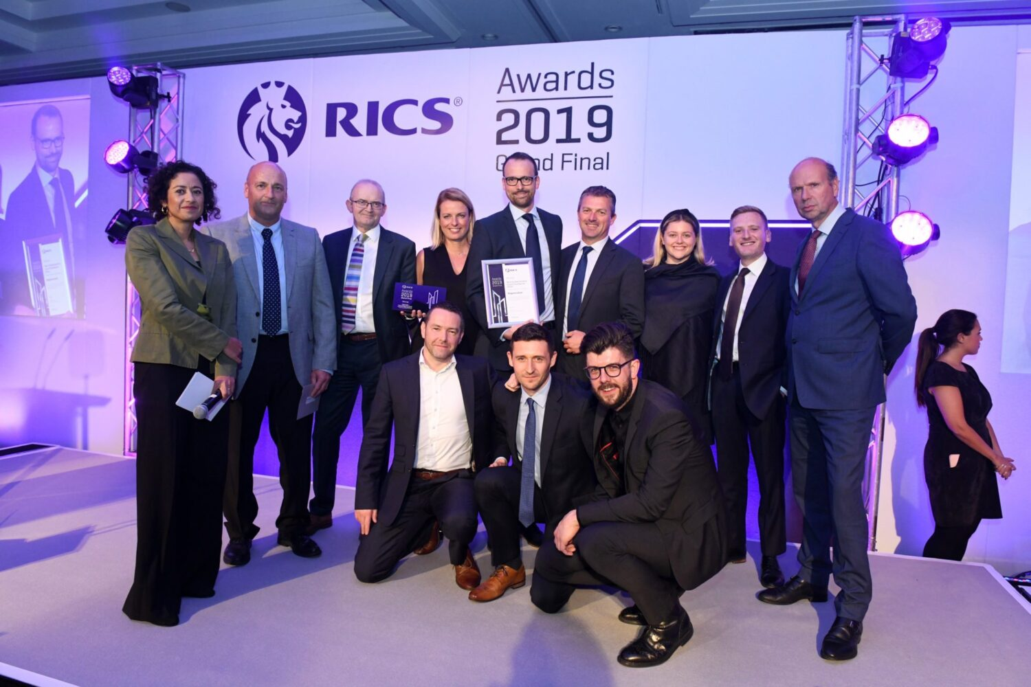 Celebrating Success at the RICS Grand Final Awards 2019