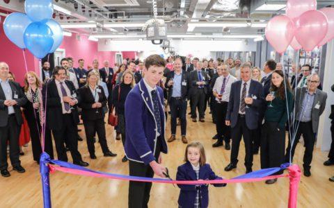 Official Opening of Kelvinside Academy's NuVu Innovation School