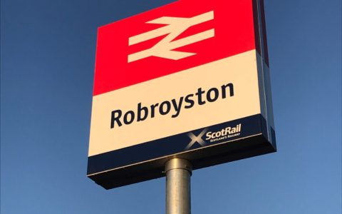As Robroyston Station opens to the public, we celebrate the successful delivery of our first major rail project.