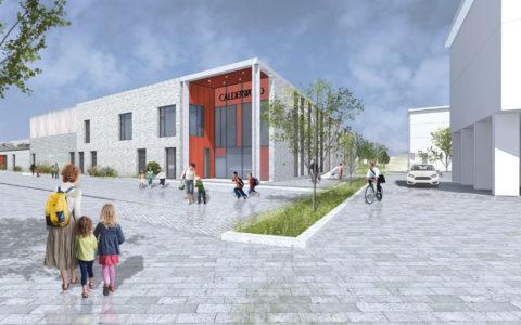 Contract Close on Calderwood Primary School